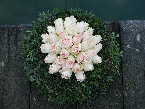 nr. 6 krans met rozen