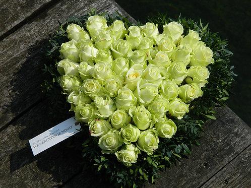 nr. 14 hart witte rozen