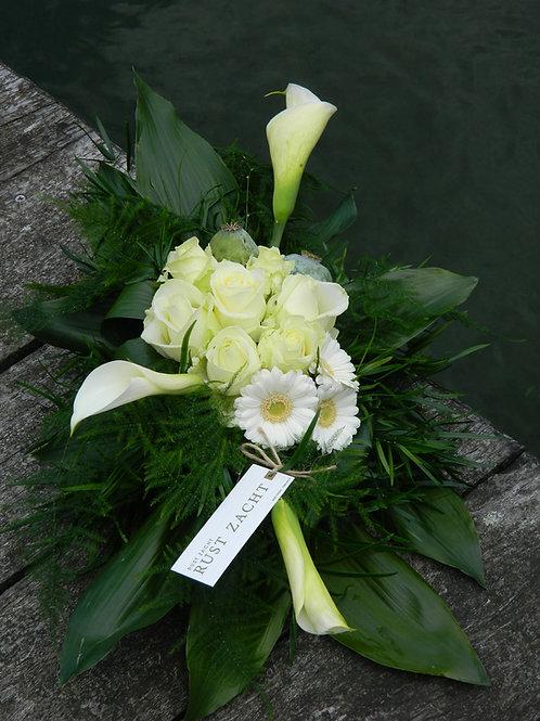 nr.4 grafstuk grote calla+rozen