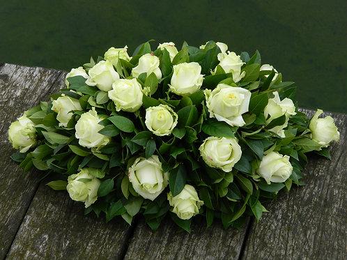 nr. 8 grafstuk salal +rozen