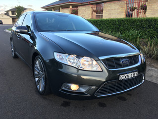 2010 Ford Falcon G6E Turbo