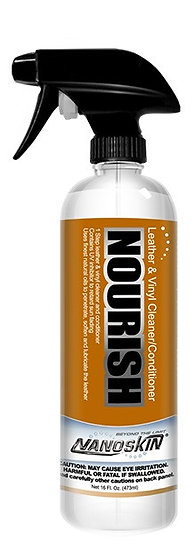 NANOSKIN NOURISH Leather & Vinyl Cleaner/Conditioner