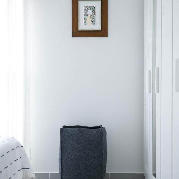 עיצוב חדר שינה לבן, עיצוב פנים, וילונות