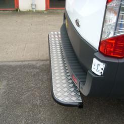 Rear tube step