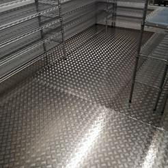 Freezer flooring