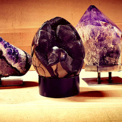 Crystal stands