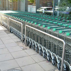 Stainless Trolly Barriers