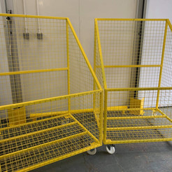 Warehouse cages