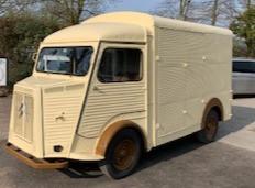 Custom Ice cream van