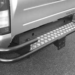 Wrap around step bumper - with tow attachment