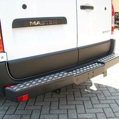 Heavyduty Rear step with tow