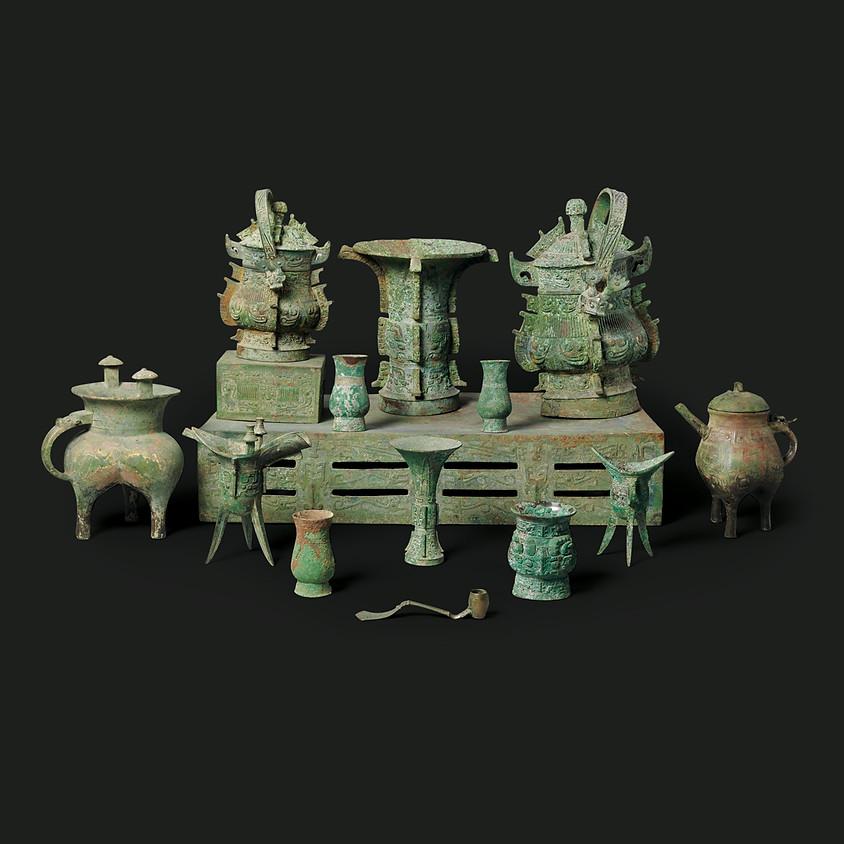 Древний Китай: вселенная нефрита и бронзы