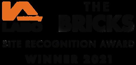 LABC The Bricks Site Recognition Award Winner 2021