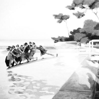 Le plongeoir