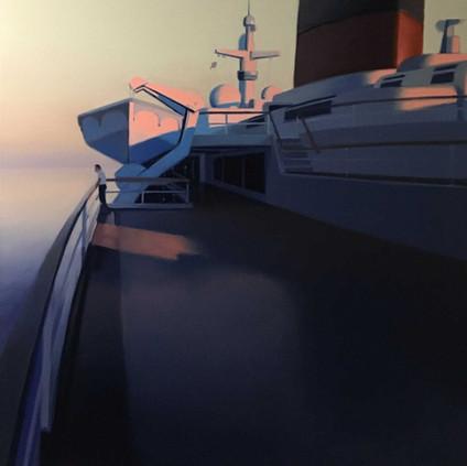 The old sea III