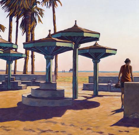 HYMAN : Venise Beach, Speedway parasols