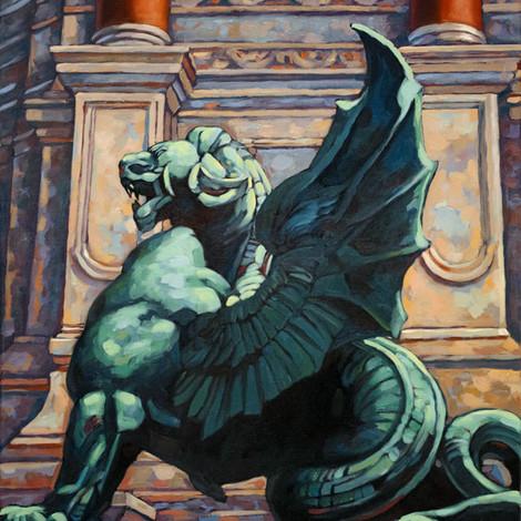HYMAN : Paris, Dragon de Saint Michel