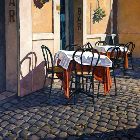 HYMAN : Rome, Caffe Trastevere