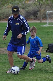 Soccer in Albuquerque, u7 boys team, fitness, massage for soccer