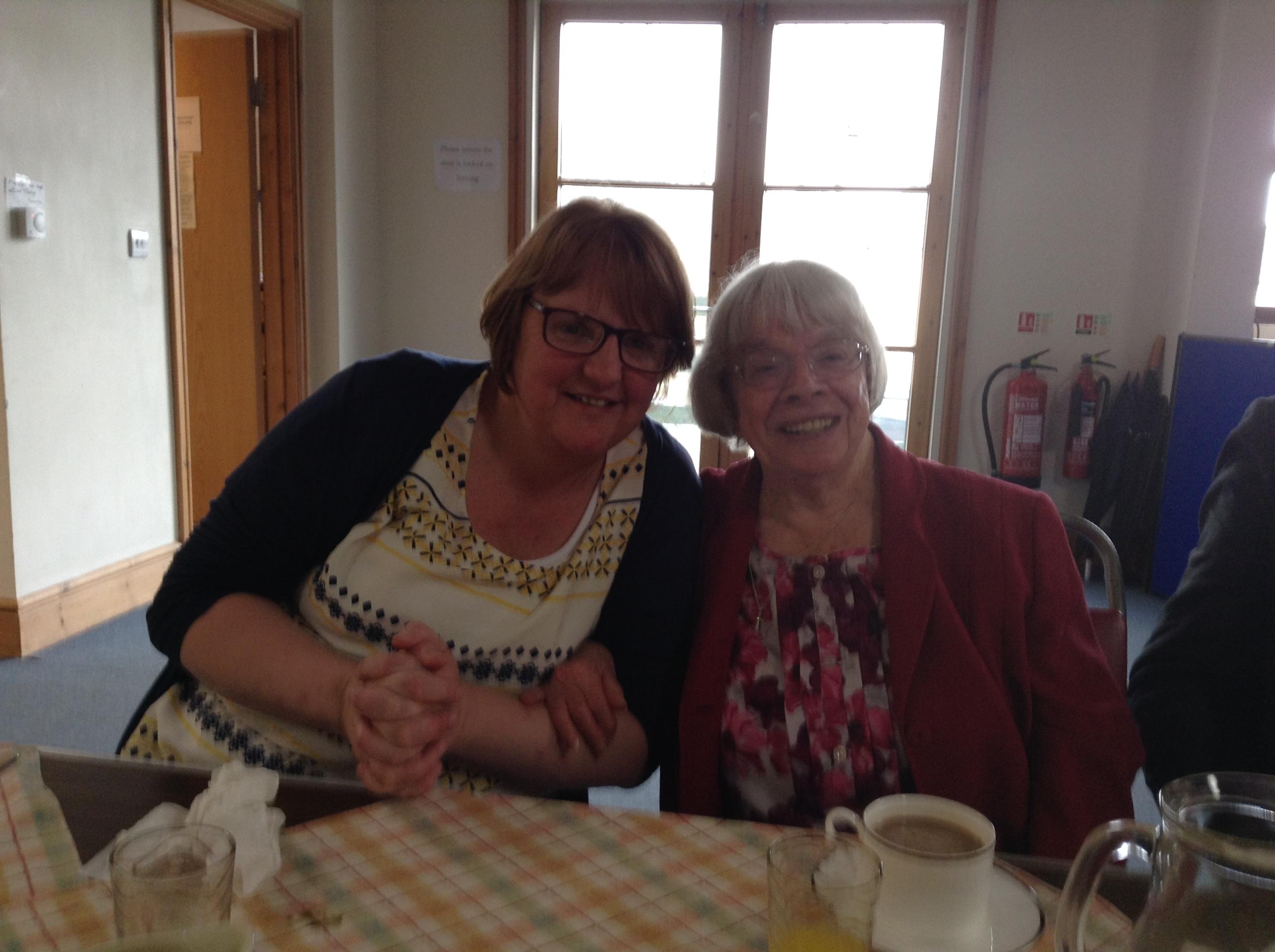 Jo and Doreen