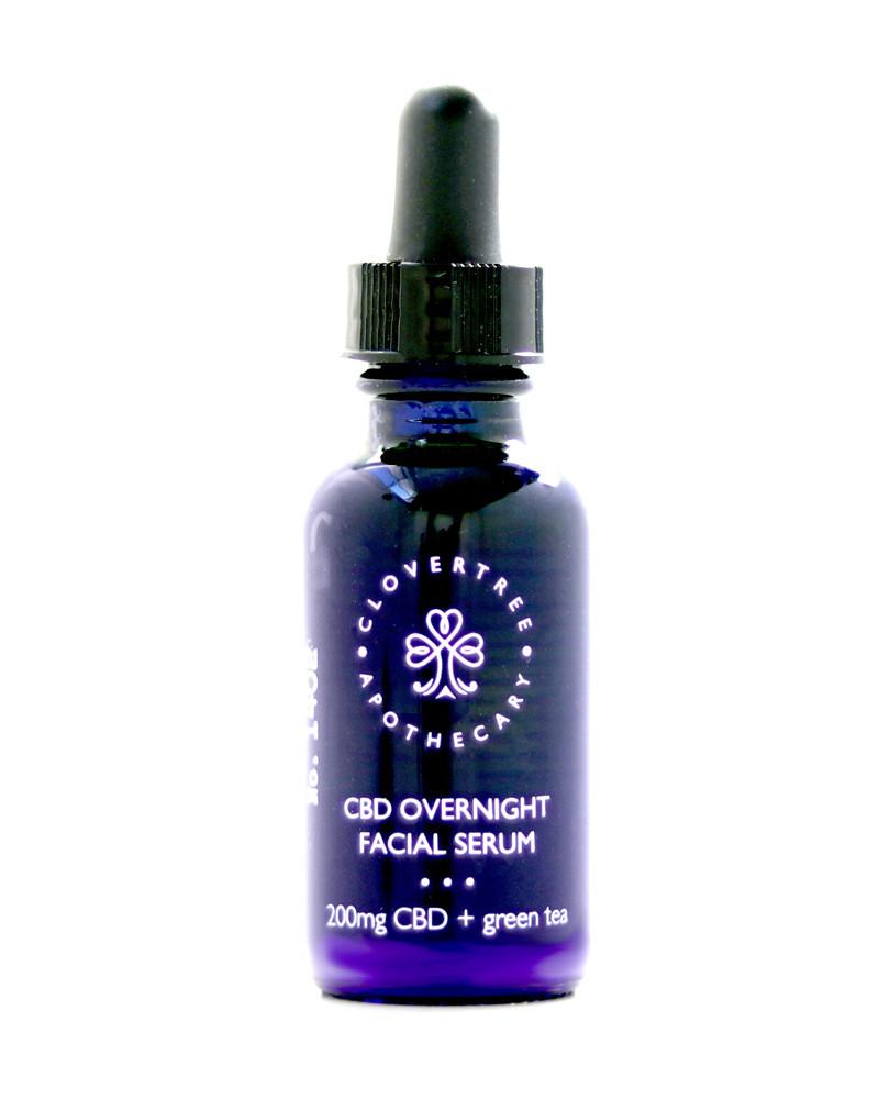 1 oz. CBD Overnight Facial Serum