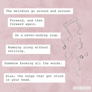 Stuck in the Head - Mini Paragraph - Meadow Afternoon