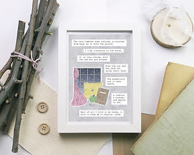 Cozy Afternoon Quote Print - Meadow Afte