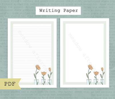 Flower Vases Writing Paper Etsy Listing Photo 1.jpg