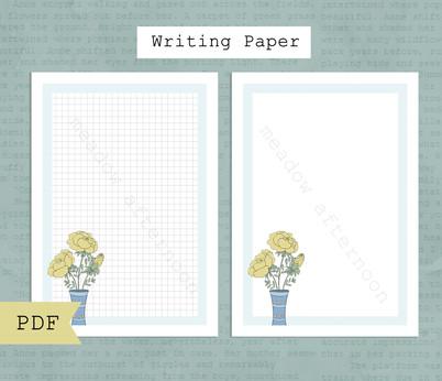 Roses Writing Paper Etsy Listing Photo 1.jpg