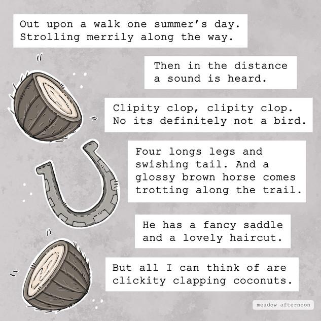 Coconuts - Mini Paragraph