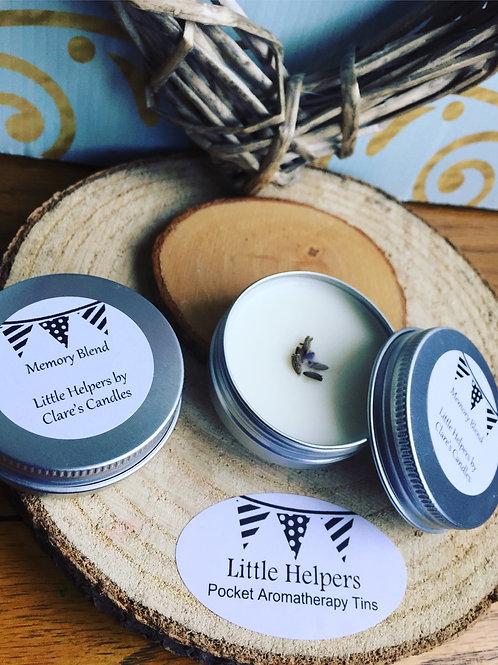 Memory Loss Blend Little Helper Pocket Aromatherapy Tin