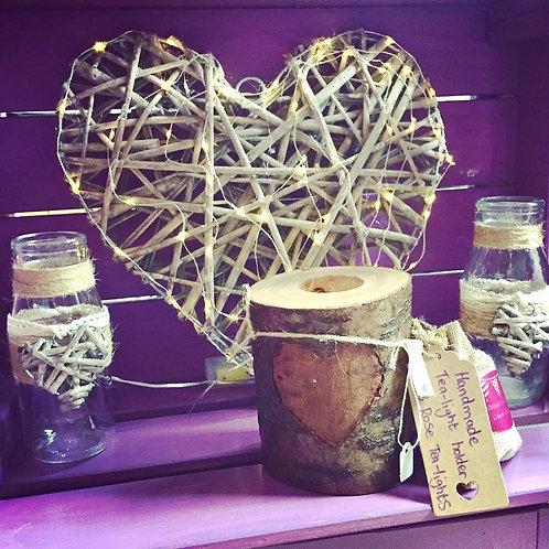 Handmade Branch Tea- Light Holder
