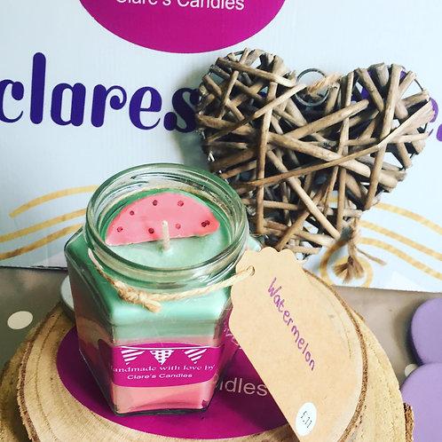 Hexagonal Jar Candles