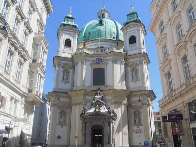 Iglesia Catolica de San Pedro, Viena