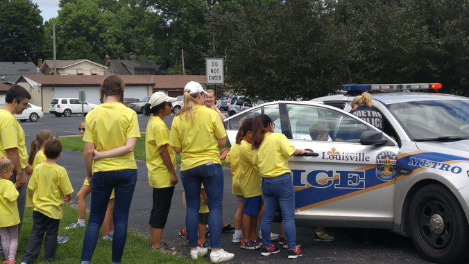 The Police Department came on First Responders Day