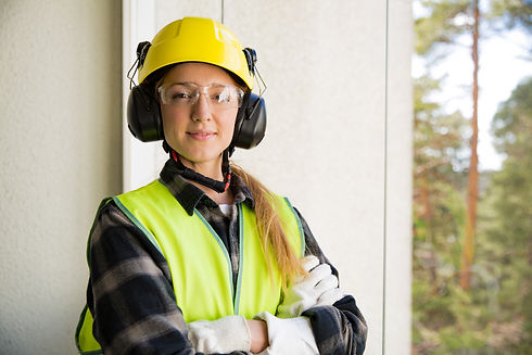 Portrait of a Young Female construction