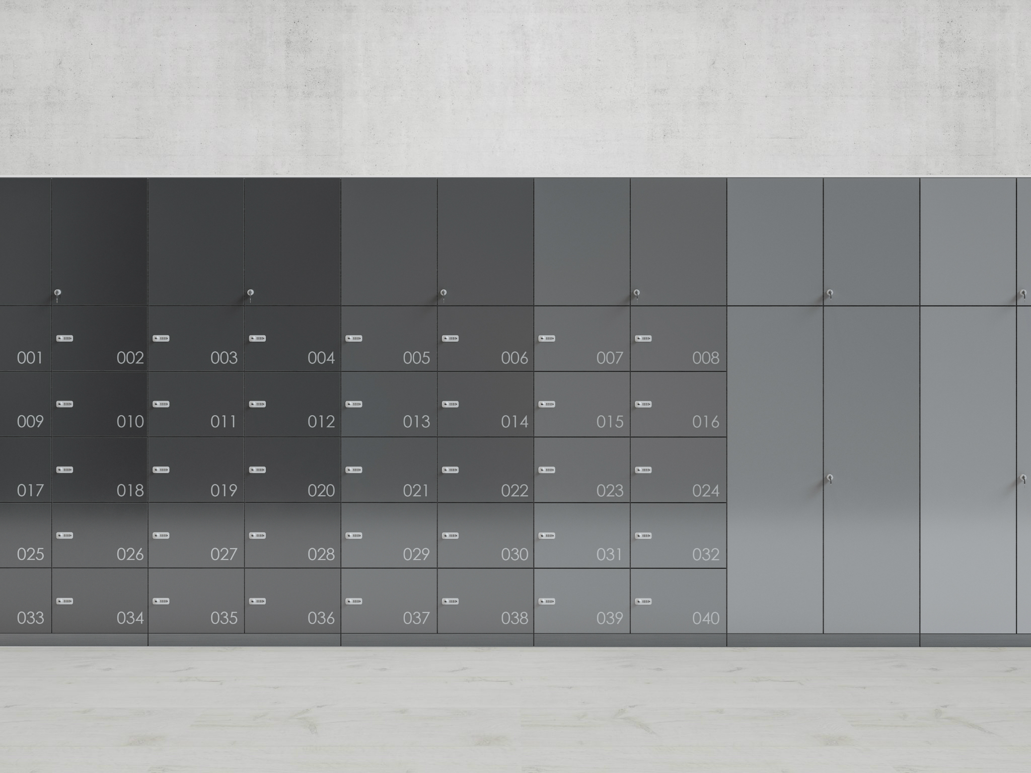 Digilock RFID Lockers