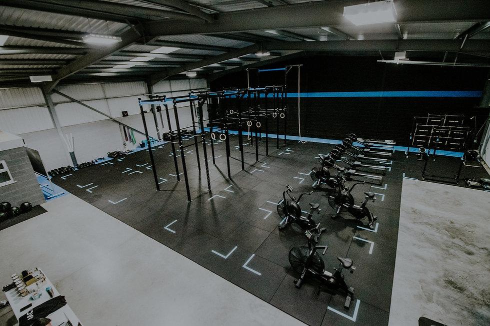 CrossFit RBR Interior