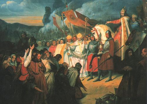 Ary_Scheffer,_Charlemagne_reçoit_la_soumission_de_Widukind_à_Paderborn,_(1840).j