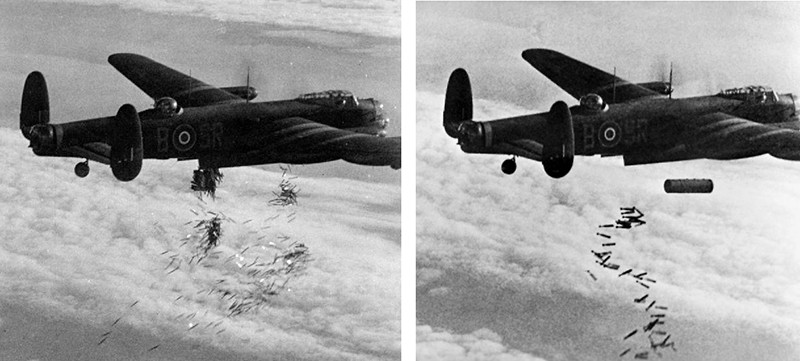 Lancaster_I_NG128_Dropping_Load_-_Duisburg_-_Oct_14_-_1944.jpg