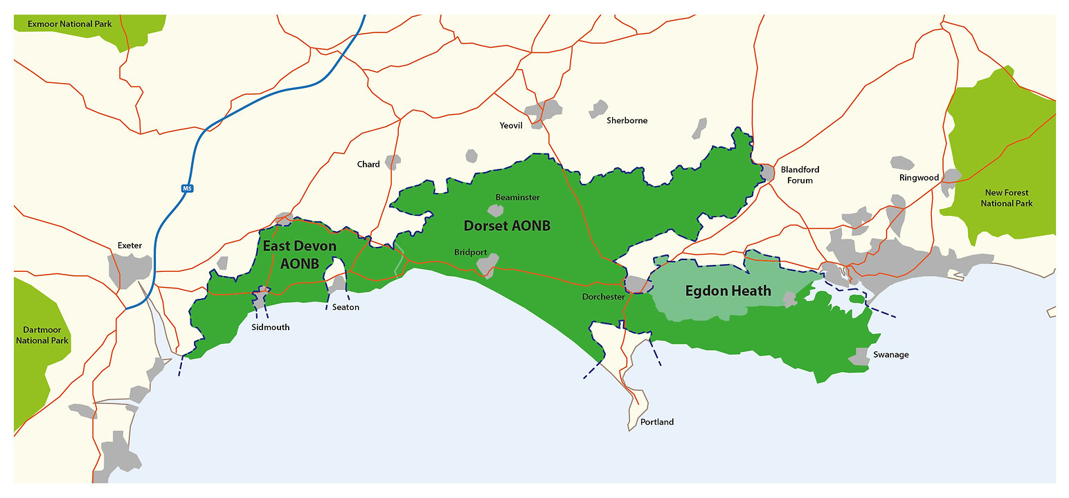 Dorset National Park Proposed Area
