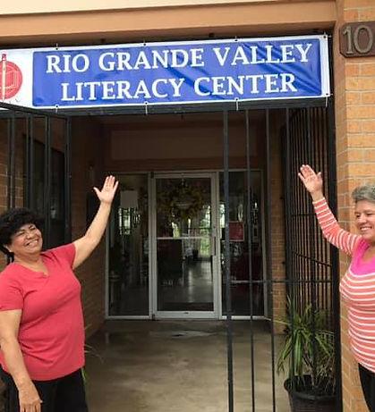 RGV Literacy Center Entrance