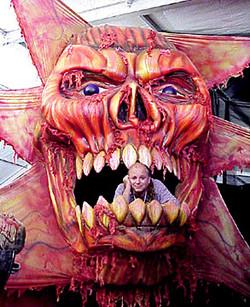 Flayed Satan