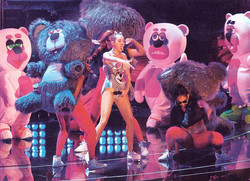 Miley Cyrus on the VMAs