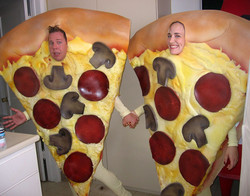 Pizza couple