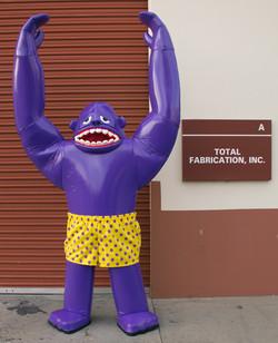 """Inflatable"" Gorilla"
