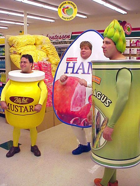 Food Mascots