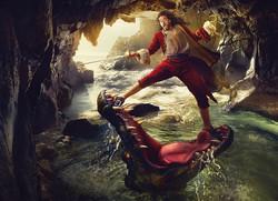 Captain Hook versus Croc
