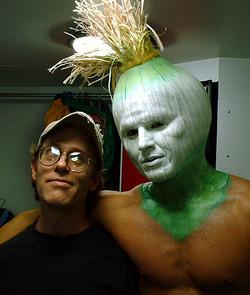 Onion head