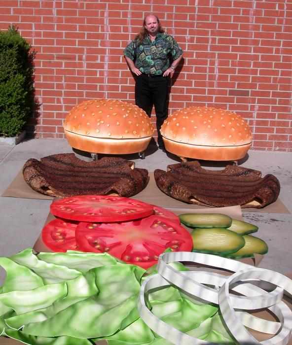 Burger Race
